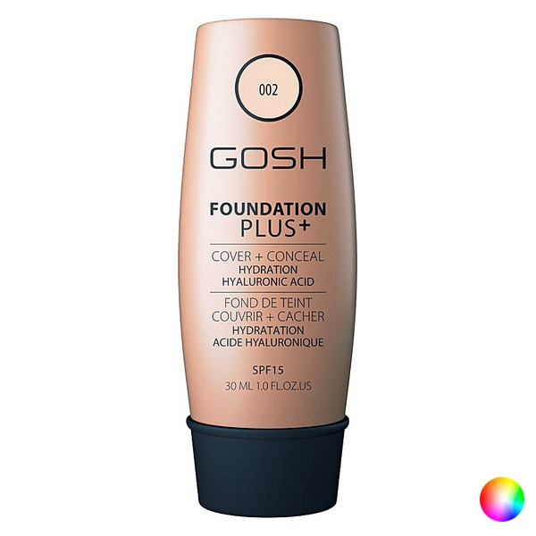 Liquid Make Up Base Foundation Plus Gosh Copenhagen (30 ml)